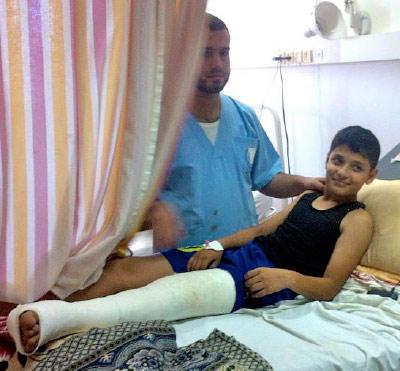 Boy escapes death during Idreali attack